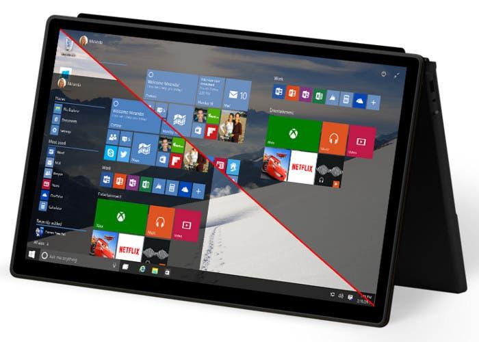 Modo Continuum de Windows 10