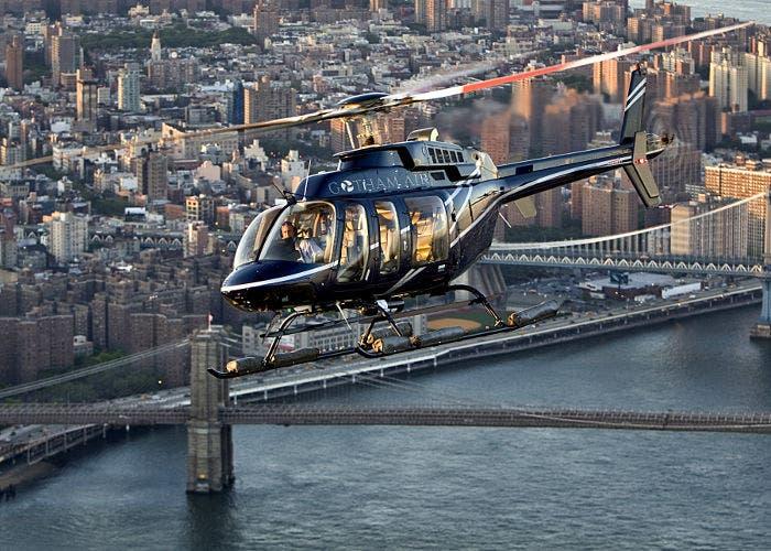 Helicóptero de Gotham Air
