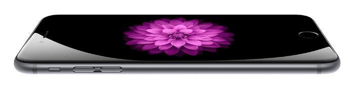 iPhone 6 visto desde un lateral