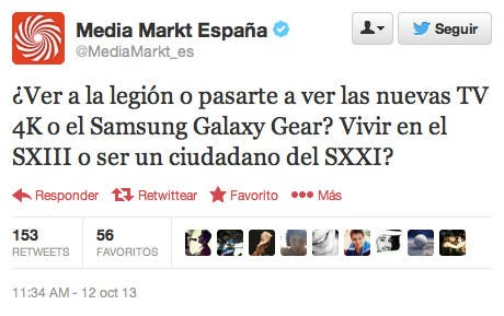 Tweet de @MediaMarkt_es 2