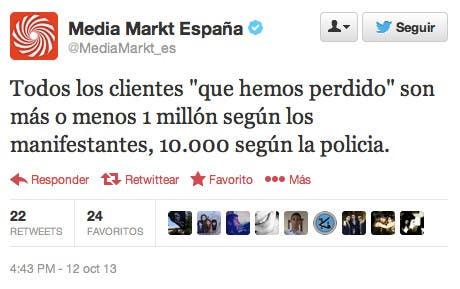 Tweet de @MediaMarkt_es 3