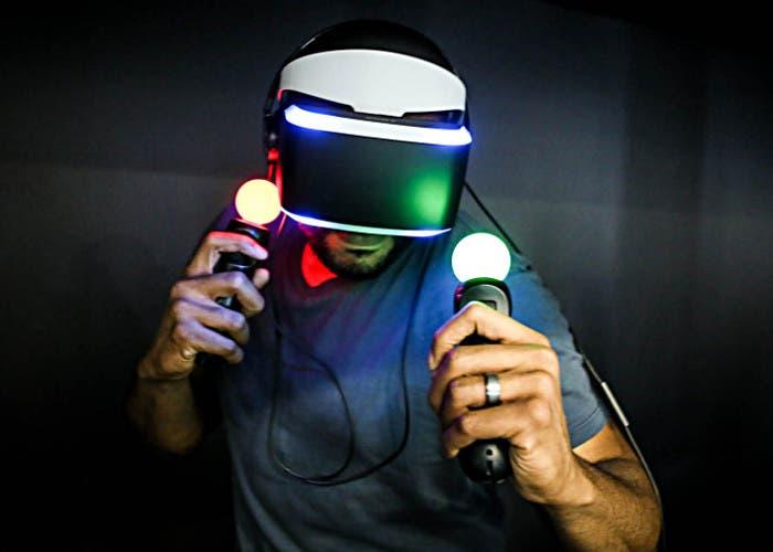 Casco de realidad virtual Project Morpheus de Sony