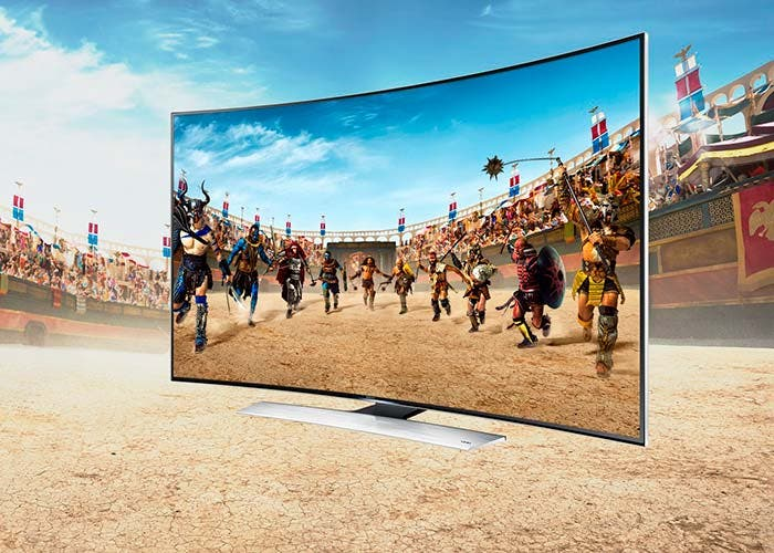 Samsung TV 4K curvo