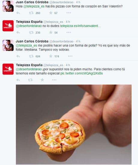 Tweets de @telepizza_es