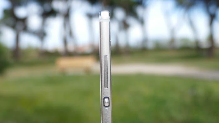 Huawei P8 grosor margenes