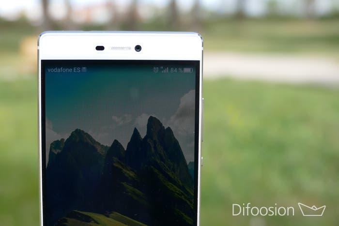 Huawei P8 pantalla