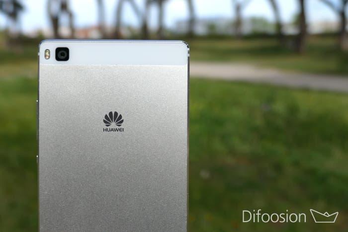 Huawei P8 parte trasera