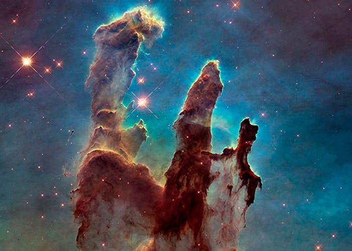 Pilares Nebulosa Aguila