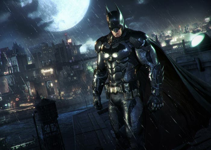Captura del videojuego Batman: Arkham Knight