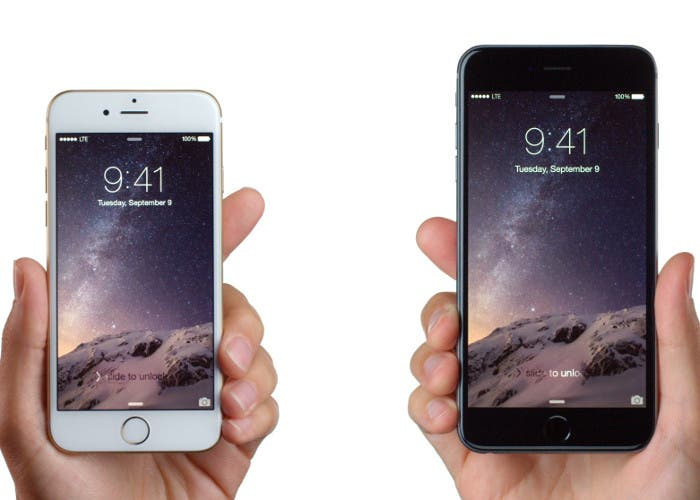 iPhone 6 Plus comparado con el iPhone 6