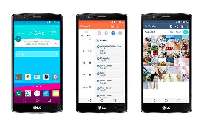 Android personalizado por la interfaz LG UX 4.0