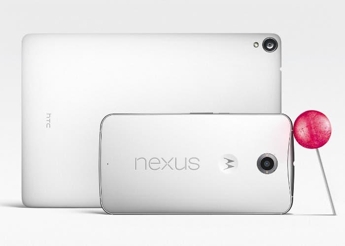 Lollipop (chupa chups) y Google Nexus