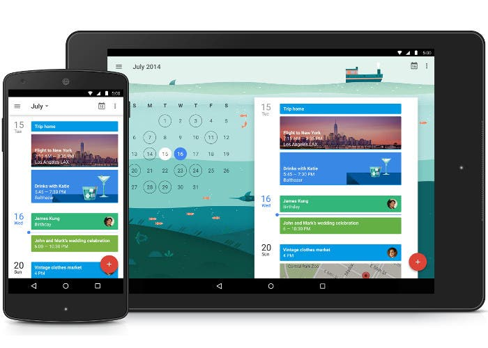 Aplicación con Material Design en Android 5.0 Lollipop