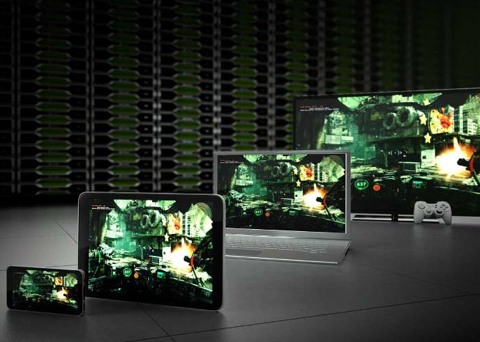 Sistema de videojuegos en streaming NVIDIA GRID