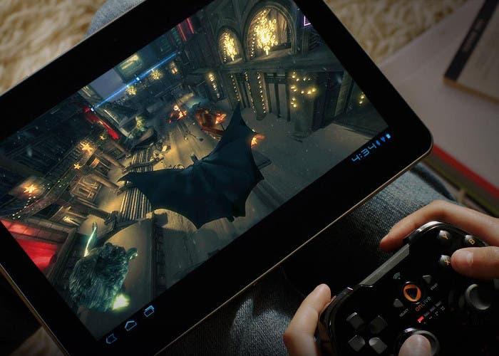Usando el sistema de videojuegos en streaming OnLive