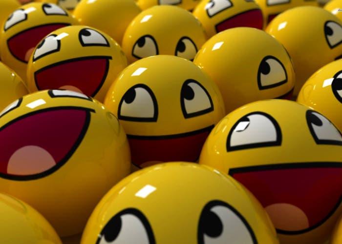 Caras sonrientes