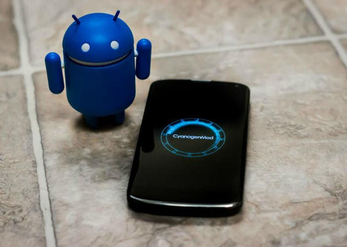 Imagen del sistema operativo CyanogenMod