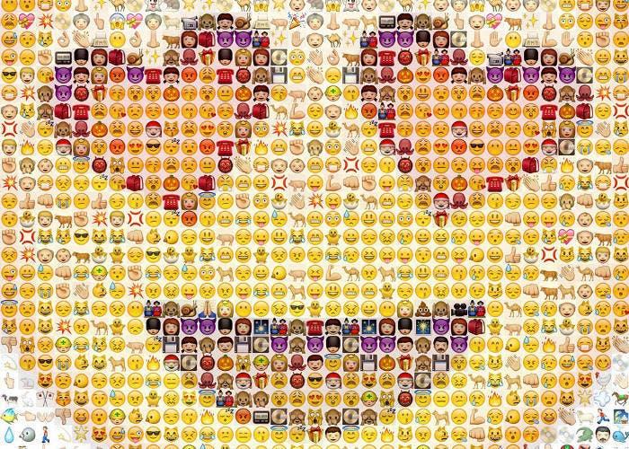 Emoji gigante