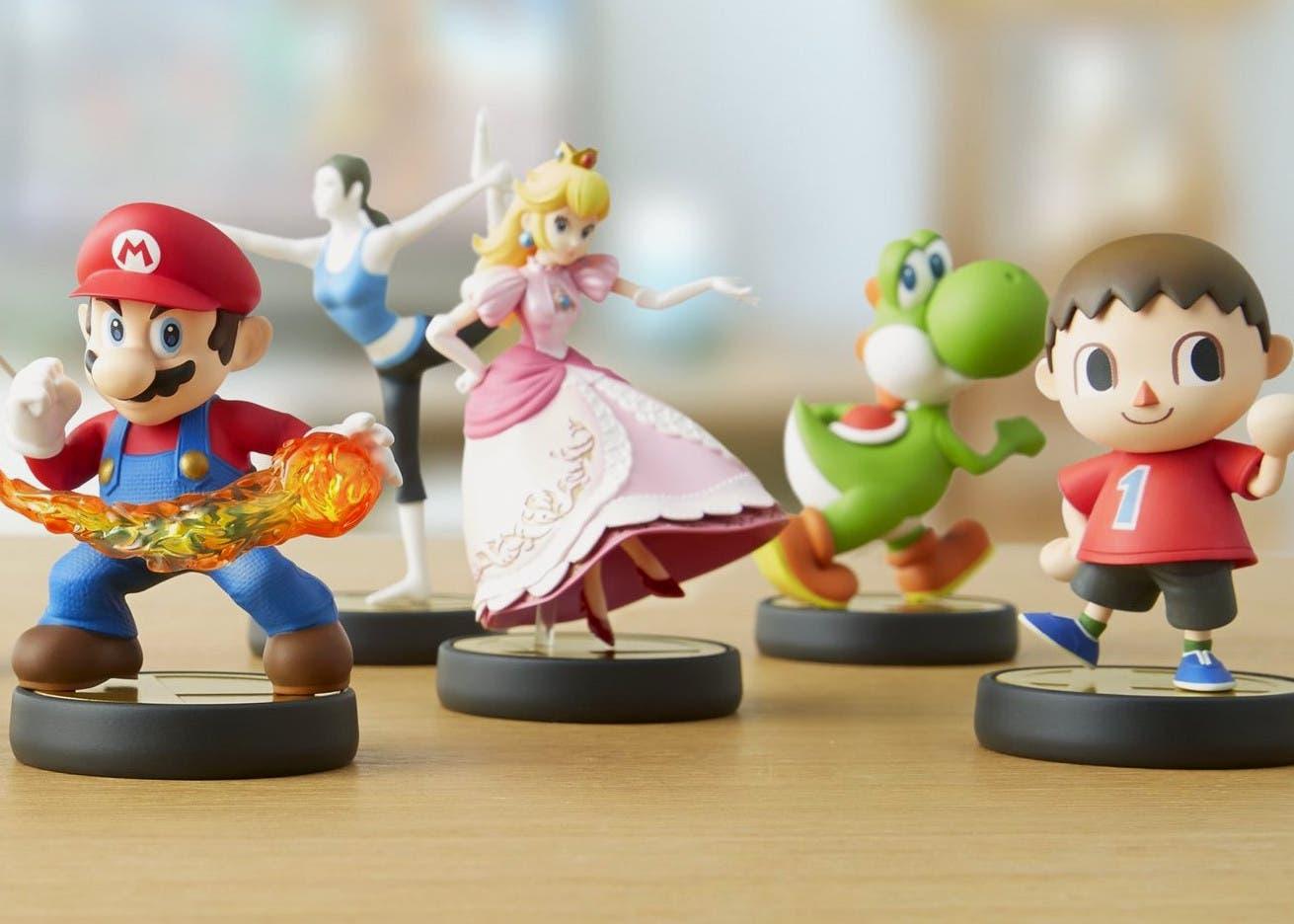 Figuras de juguete amiibo de Nintendo