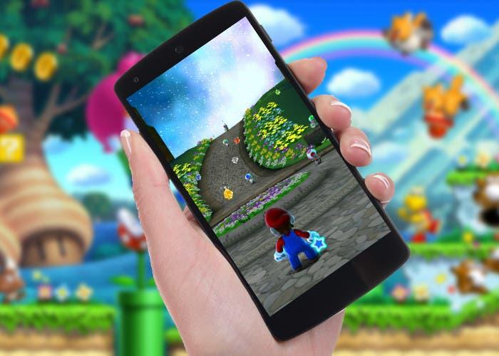 Juego para smartphones de Nintendo