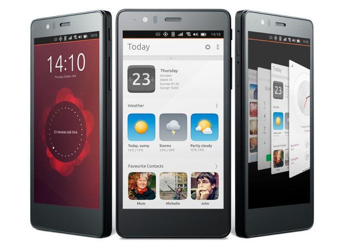 Smartphone bq Aquaris E5 HD Ubuntu Edition