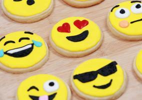 Galletas con forma de emojis