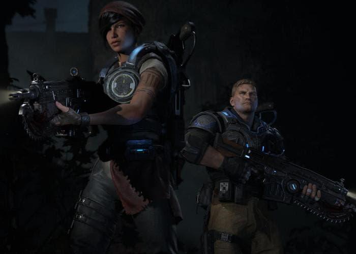 Imagen del videojuego Gears or War 4