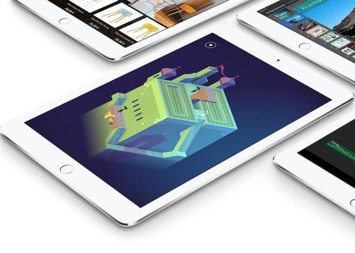iPad con el juego Monument Valley