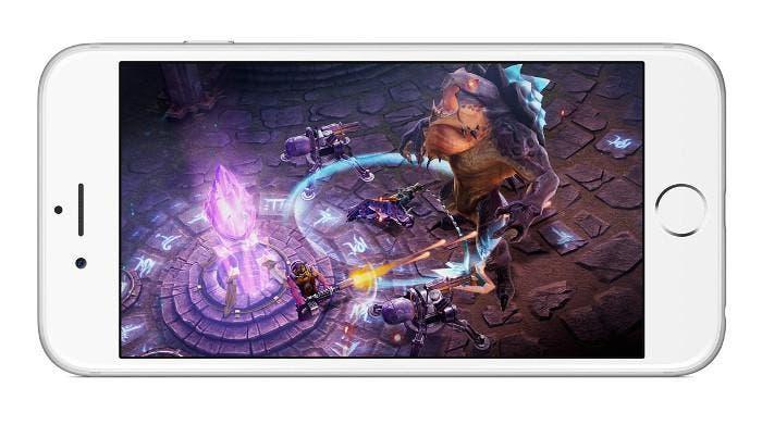 Juego en un iPhone 6