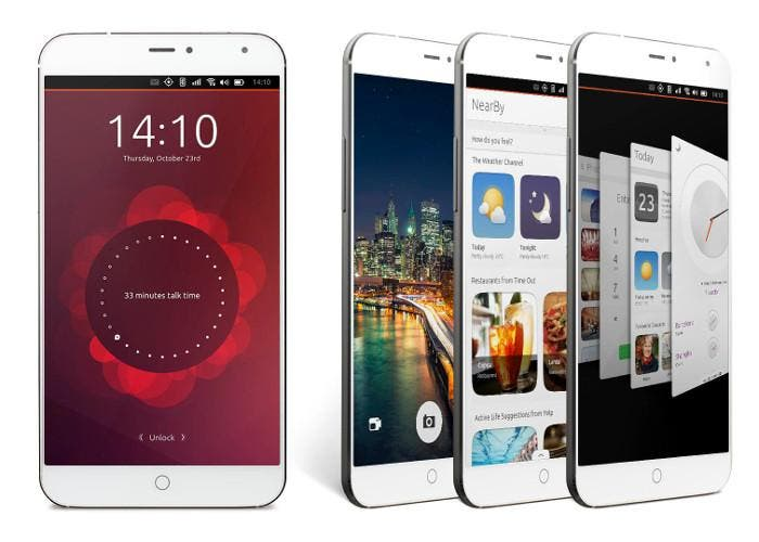 Smartphon Meizu MX4 Ubuntu Edition