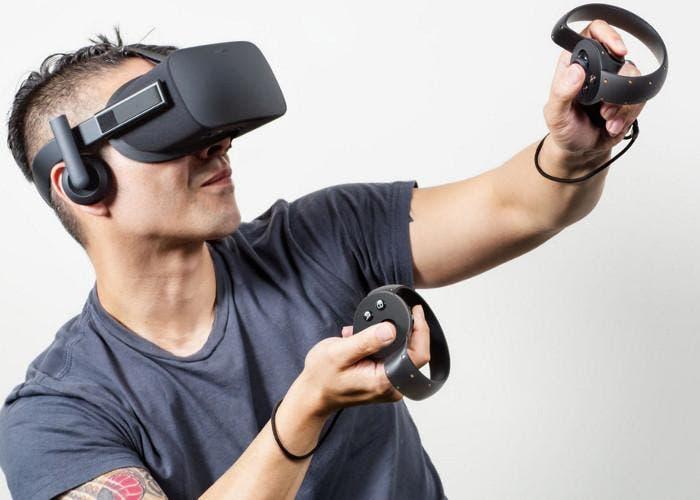 Oculus Rift con sus mandos Touch
