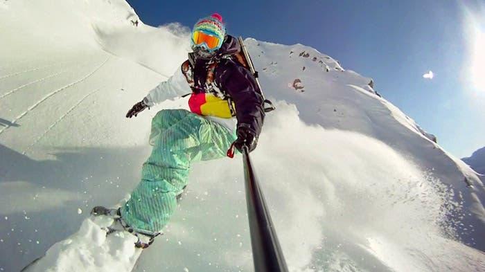 GoPro esquí