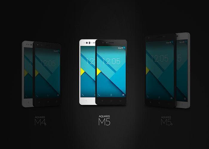 Smartphones bq Aquaris m