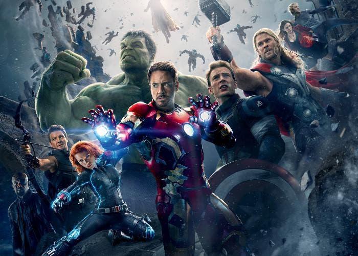 Los Vengadores, un grupo de superhéroes