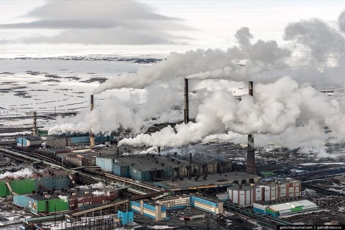 Así es Norslik, una de las ciudades más contaminadas y frías del mundo