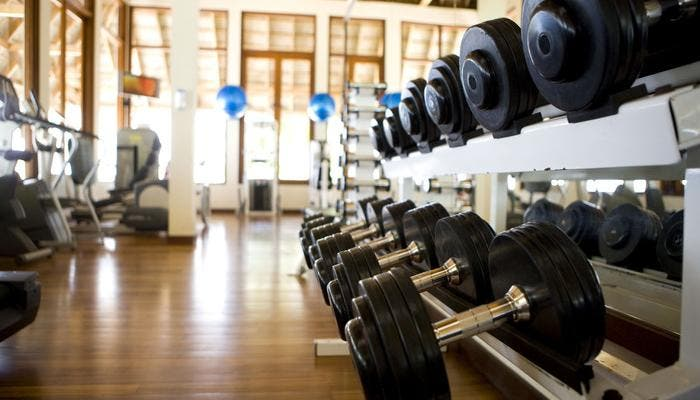 Imagen de un gimnasio