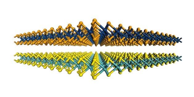 Malla 2D a nivel atómico de varios materiales