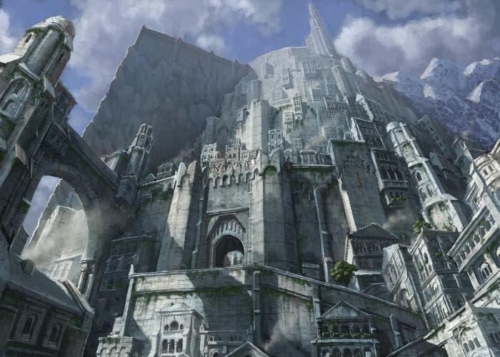 Minas Titrith, ciudad de El Senor Anillos