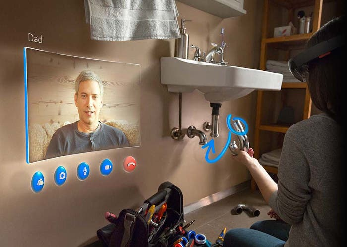 HoloLens en el trabajo