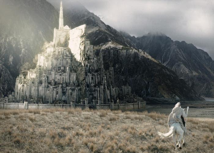 Minas Tirith, una ciudad de El Señor de los Anillos