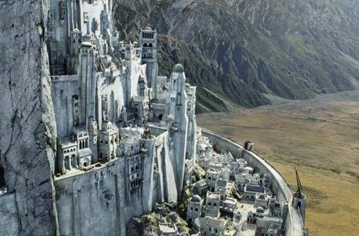 Minas Tirith de El Señor de los Anillos