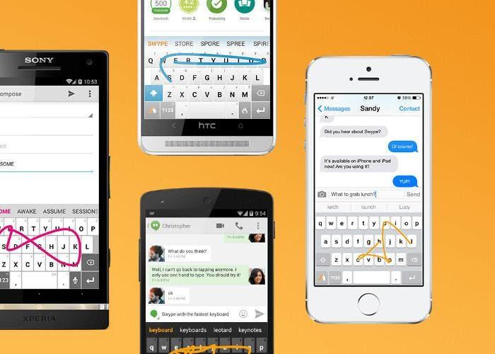 Swype, el teclado para la productivdad de iOS y Android