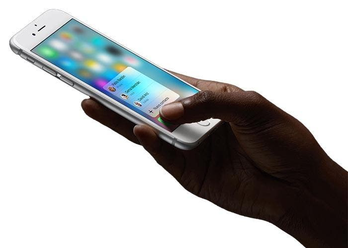3D Touch en el iPhone 6s