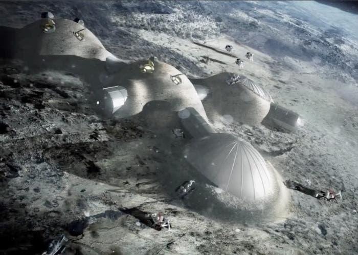 El ser humano poblará la luna