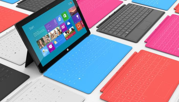 Microsoft Surface con Windows RT