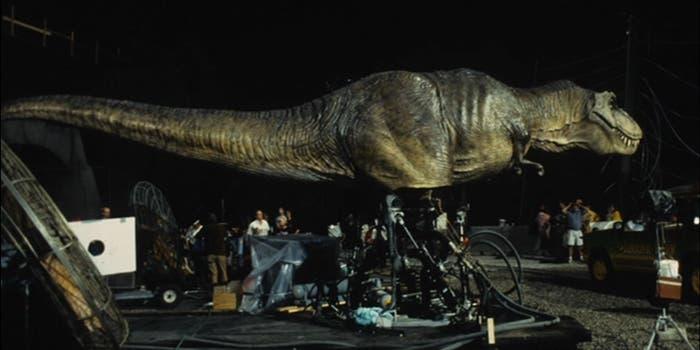 Animatrónica T-Rex