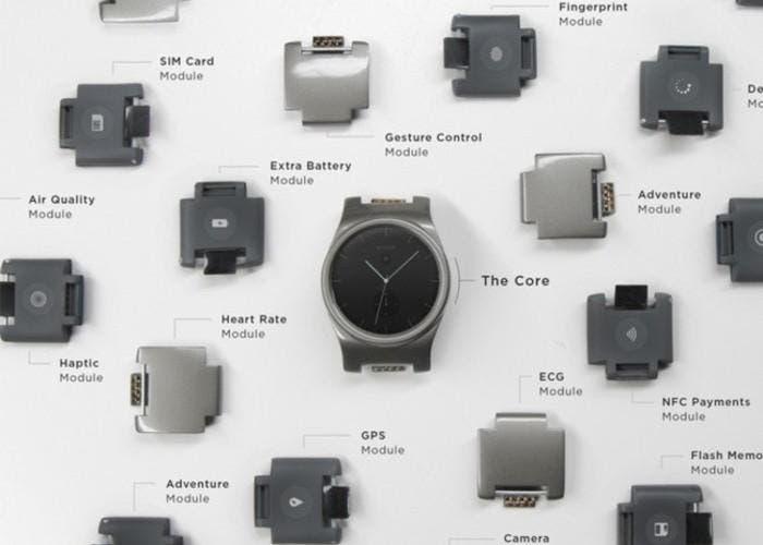 Blocks smartwatch modulos