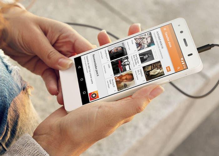 Smartphone bq Aquaris A4.5