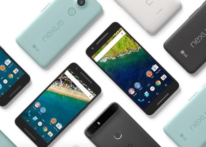 Google Nexus 5X y Google Nexus 6P