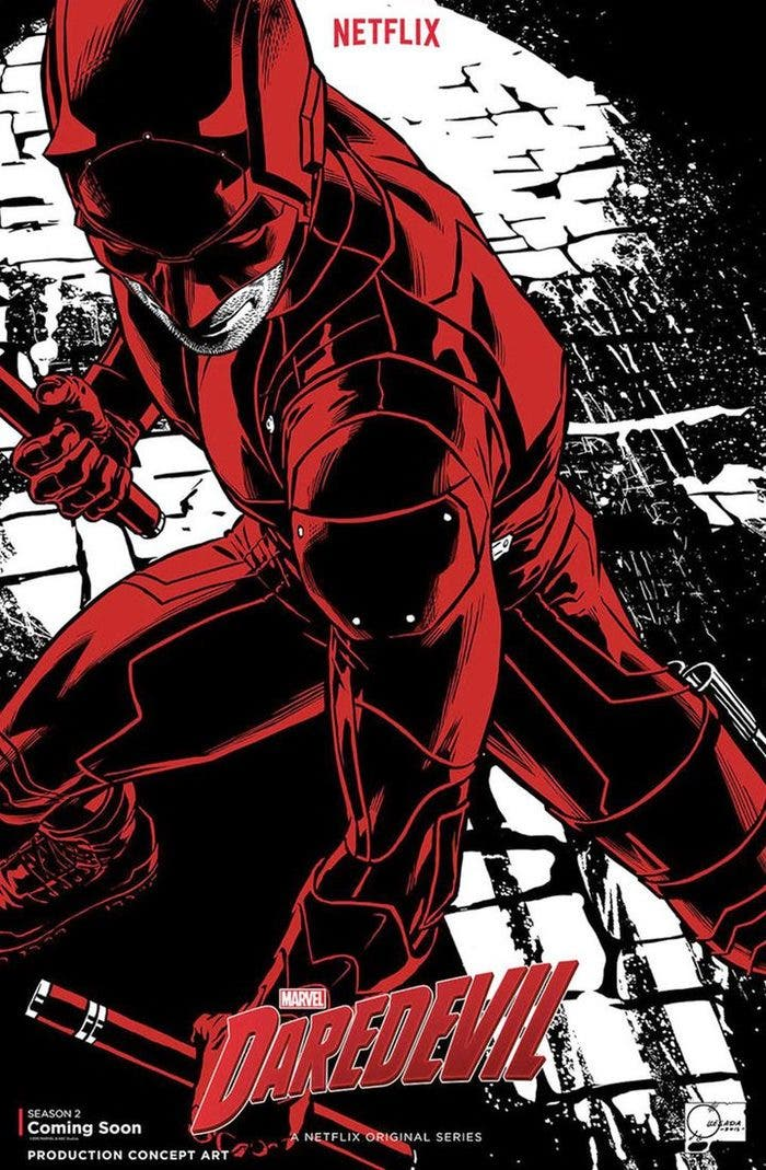 Teaser poster Daredevil T2